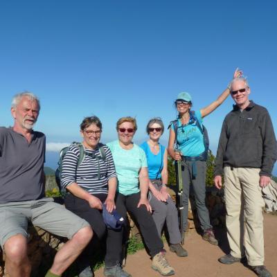 Au sommet du Garajonay (La Gomera)